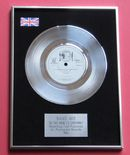 BAND AID - DO THEY KNOW IT'S CHRISTMAS Platinum Single Presentation DISC